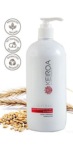 KEIROA K-CLEAN LECHE LIMPIADORA NATURA A LA AVENA 500ML: Amazon.es: Belleza