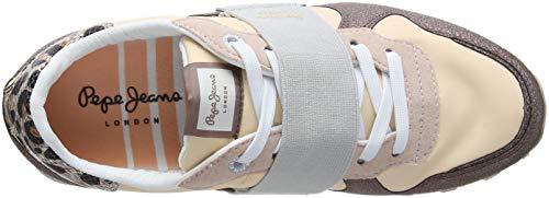 W Ginnastica Mauve da Verona Donna Basse Pepe Scarpe Jeans Elastic Pink Rosa qwRCpH