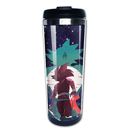 IAYAYO Dragon Ball Z Son Goku Stainless Steel Mug Coffee Vacuum Flask