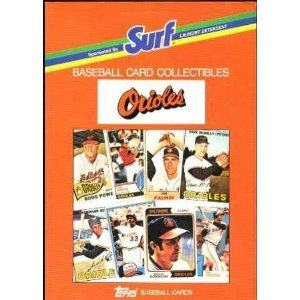 Topps Chewing Gum (Surf Baseball Card Collectibles:)