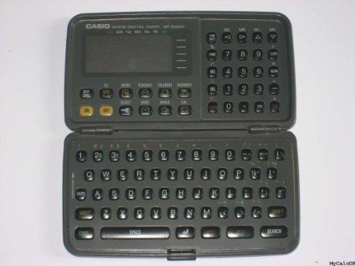 Casio Business Organizer Scheduling System