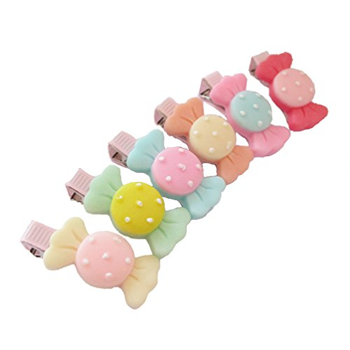 10 Pcs Candy Alligator Clips