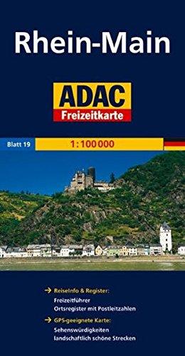 ADAC FreizeitKarte, Bl.19, Rhein-Main (ADAC Freizeitkarten) Landkarte – Folded Map, 1. April 2009 MAIRDUMONT 3826409272 Stadtpläne Deutschland