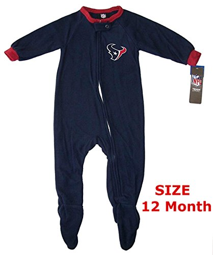 Houston Texans Baby Pajamas Price Compare