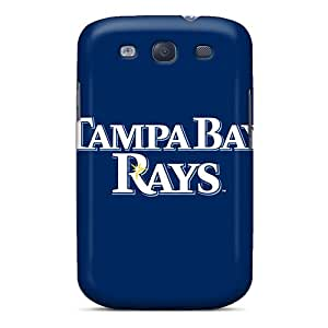 Special ERCox Skin Case Cover For Galaxy S3, Popular Baseball Tampa Bay Rays 2 Phone Case
