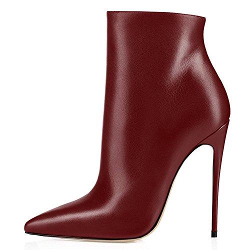 8 Zapatos 4 Inch ELASHE para tac de Mujer Botines wWtSwYqI