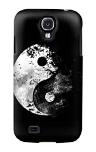 S1372 Moon Yin-Yang Case Cover For Samsung Galaxy S4