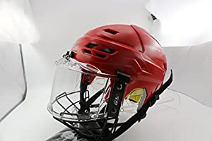 GY Innovative Vented Propene Polymer Ice Hockey Helmet With Face & Eye Shield Mask Combo Player Equipment