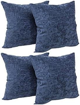 Calvin Klein Home 2510035-SU-S1-D2 Nocturnal Blossoms Cut Lines Pillow, 18 x Pillow
