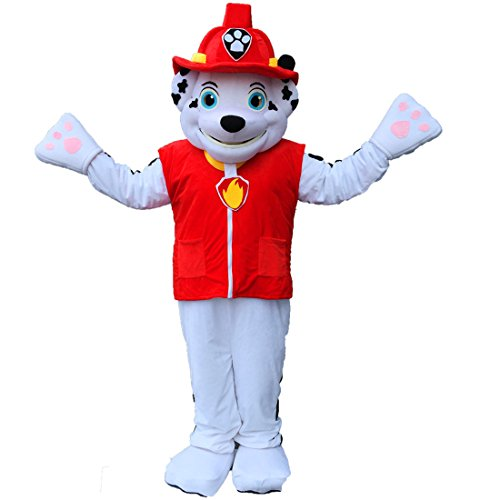 Patrol Marshall dog Mascot Costume Cartoon Real Picture Langteng (Dog Mascot Costumes)