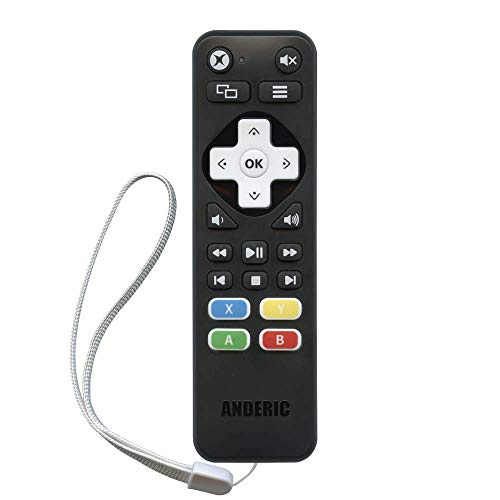 Anderic Xbox One Media Remote Control Learning A,B,X,Y Buttons - Works Xbox One, Xbox One S, Xbox One X - RRXB01 from Anderic
