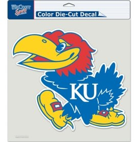 WinCraft NCAA Kansas Jayhawks Die-Cut Color Decal, 8