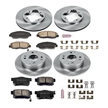 Autospecialty KOE847 1-Click OE Replacement Brake Kit