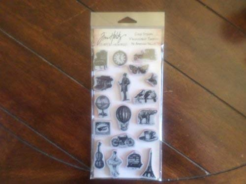 TIM HOLTZ STAMPER ANONYMOUS CLING STAMPS- THJ005 LITTLE THINGS