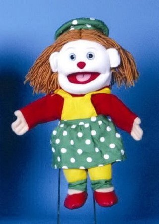 Female Clown Puppet 14 by Sunny and Co by by by Sunny 36d2df