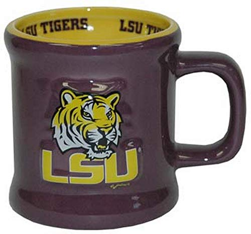 NCAA LSU Tigers Mug Ceramic Relief - Lsu Tigers Coffee Mug