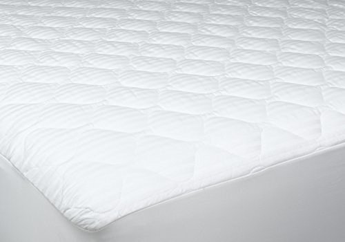 Newpoint Home Deluxe 250-Thread-Count Cotton Damask Stripe Twin XL Mattress - Cotton Mattress Damask Pad