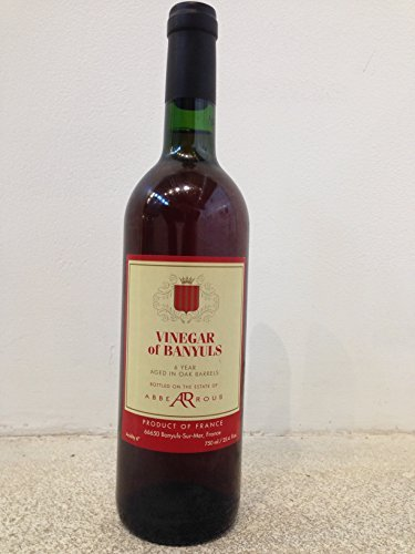 Banyuls Wine Vinegar - Aged 6 Years (1 x 750 ml) ()