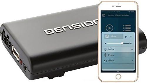 Dension DAB + un (dba1gen) interfaz universal DAB + FM/AUX con control de Smartphone: Amazon.es: Electrónica