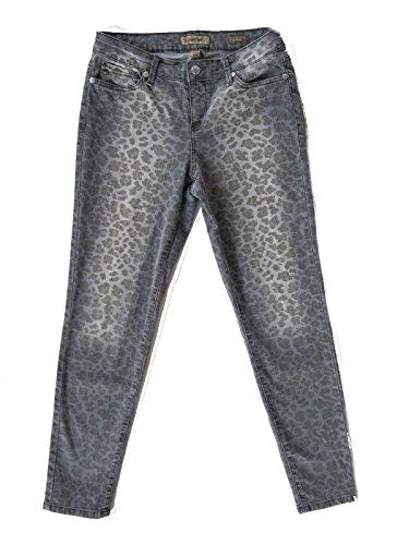 Leopard Print Jeans - 6
