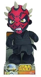 SIMBA 5873996 Personaje Negro, Rojo Juguete de Peluche - Juguetes de Peluche (Personaje, Negro, Rojo, Star Wars, 3 año(s), Darth Maul, 220 mm)