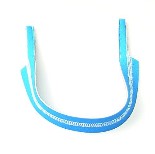 Banda deportivo blanco sin o azul estilo claro estampado con de universal para gafas r7q8wrCt