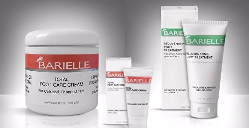Barielle Deluxe 2-Piece Foot Treatment Cream Combo Pack - with Free Gift! (Cream Barielle)