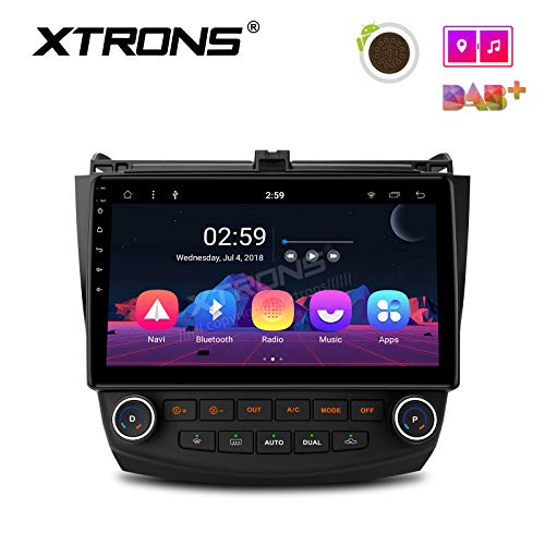 - XTRONS Car 10.1 inch Touch Display Android 8.1 Car GPS Navigator Stereo Radio with USB Bluetooth 5.0 Supports OBD DVR Backup Camera 4G 3G TPMS for Honda Accord (no-DVD Player)