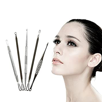 Monojoy(TM) Professional Blackhead Remover Acne Tool Kit , Comedone Extractor, Beauty Facial