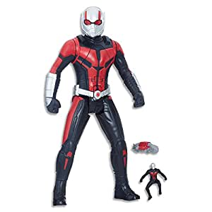 "MARVEL AVENGERS - 12"" Ant Man - Shrink & Strike Action Figures - Ant Man & The Wasp - Kids Super Hero Toys - Ages 4+"