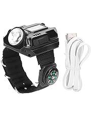 Multi‑Functional Outdoor Flashlight Wrist Watch, LED Light Hand Light Wrist Band Electronic Watch