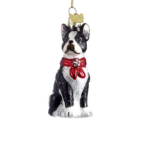 Terrier Glass Ornament - 8