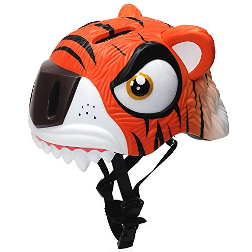 Tiger Helmet - Bavilk New 3D Tiger Safety Helmet for Unisex Children