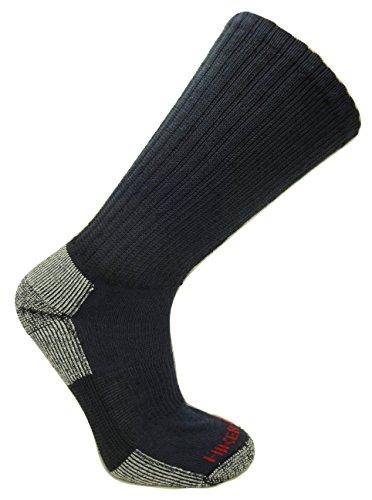 Super-wool Hiker GX Merino Wool Hiking Socks  , Navy/Grey