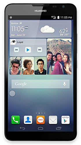 HUAWEI Ascend Mate2 4G 16GB Unlocked GSM LTE 6.1″ Quad-Core Smartphone w/ 13MP Camera – Black