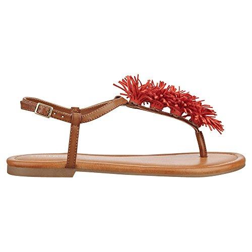 Indigo Rd. Latita Women Us 6 Bruine Slingback Sandaal