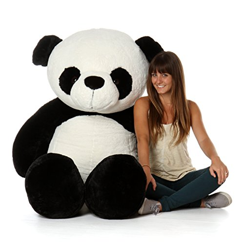 (Giant Teddy Brand Giant Stuffed Panda Bears (6 Foot))