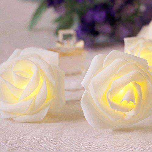 White Rose Led Lights - 1