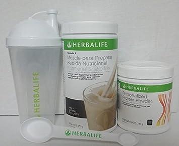 Amazon.com: Herbalife Combo FORMULA1 Shake mezcla Galletas ...