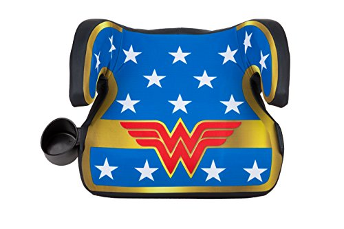 KidsEmbrace WB Belt Positioning Backless Booster Car Seat, Wonder Woman