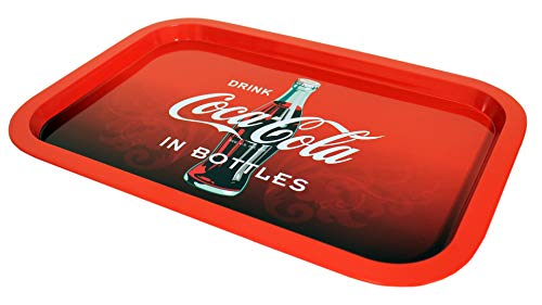 - The Tin Box Company 778497-12 2019 Coca Cola Tin Tray Coke, Red