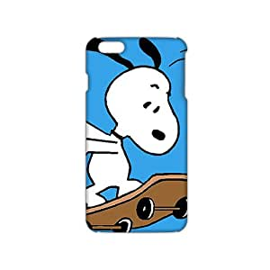 Fortune Lovely snoopy 3D Phone Case for iPhone 6