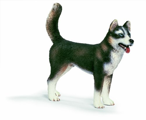 Schleich Male Husky - Family Dog Brown