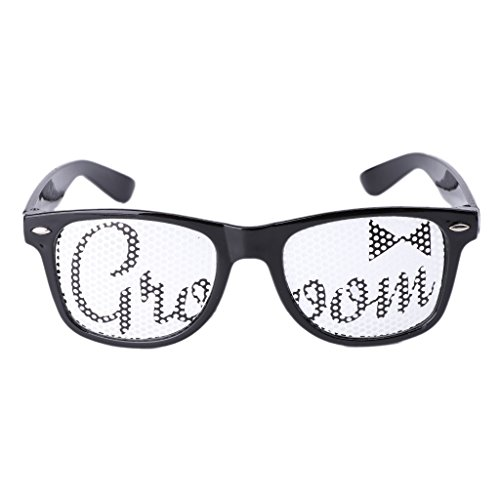 [Allrise Party Style Ball Glasses, Bride Sunglasses Fancy Dress Costume Hen Night Wedding Party Decor Gift(02)] (Hollywood Costumes Carnival 2017)