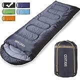 Sleeping Bag - Envelope Lightweight Portable Waterproof, for Adult 3 Season Outdoor Camping Hiking