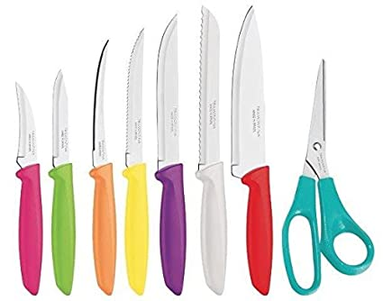 Compra Tramontina 23498/917 - Juego de cuchillos de cocina ...