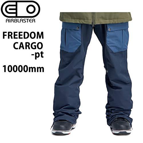 AIR BLASTER エアブラスター ウェア 19-20 FREEDOM CARGO -pants/DARK NAVY パンツ (2019-2020) AIR blaster ウエア スノーボード ウェア メンズ【C1】  Small
