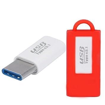 Type C USB adaptador, Susenstone OnePlus USB Type C Cargador ...