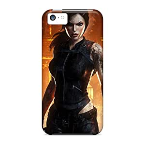 Iphone 5c LAj11859VQNJ Support Personal Customs High Resolution Tomb Raider Pictures Scratch Protection Hard Phone Case -SherriFakhry