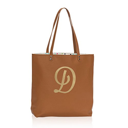Thirty One Around Town Tote in Caramel Charm Pebble - Hostess Exclusive - 8309 - No Monogram